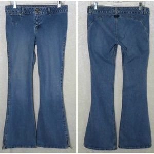 Silver Jeans Vintage Light Wash Bell Bottom Flares